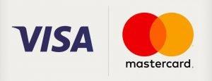Visa and Mastercard Logi